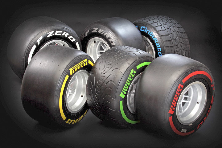 Tire compounds revealed for Bahrain, Spain and Monaco races