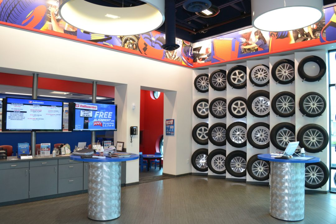 Tire Discounters Celebrates 2 Store Openings and Baseball