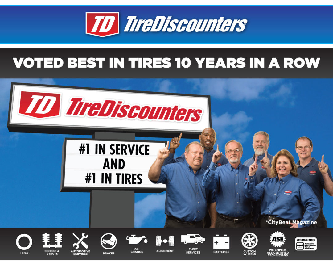 Tire Discounters Wins 2 'Best of Cincinnati' Awards