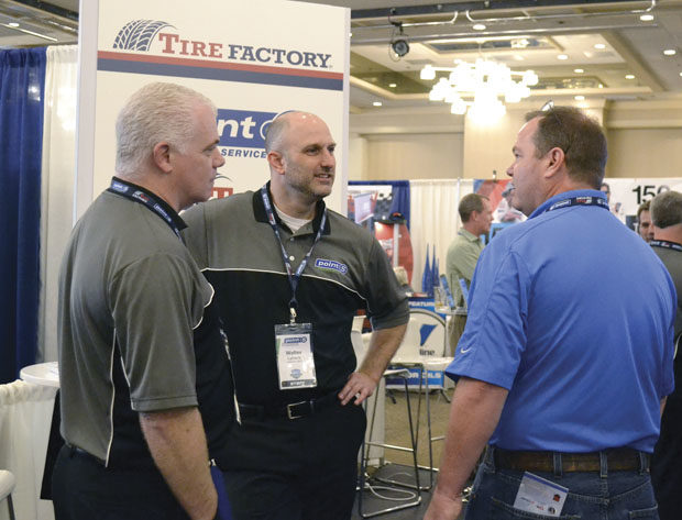 Tire Factory Dealers Get to the Point: Conversion to Point S Dominates Annual Meeting