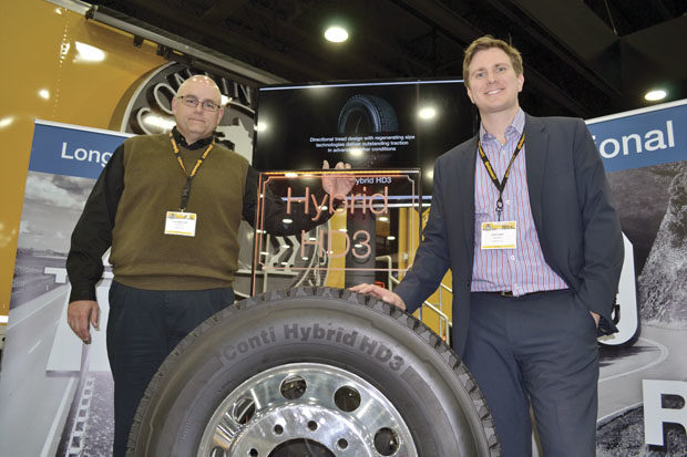 Tire makers roll into MATS 2013