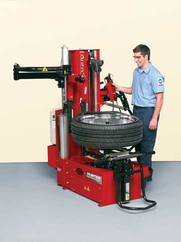 Tire mounting equipment