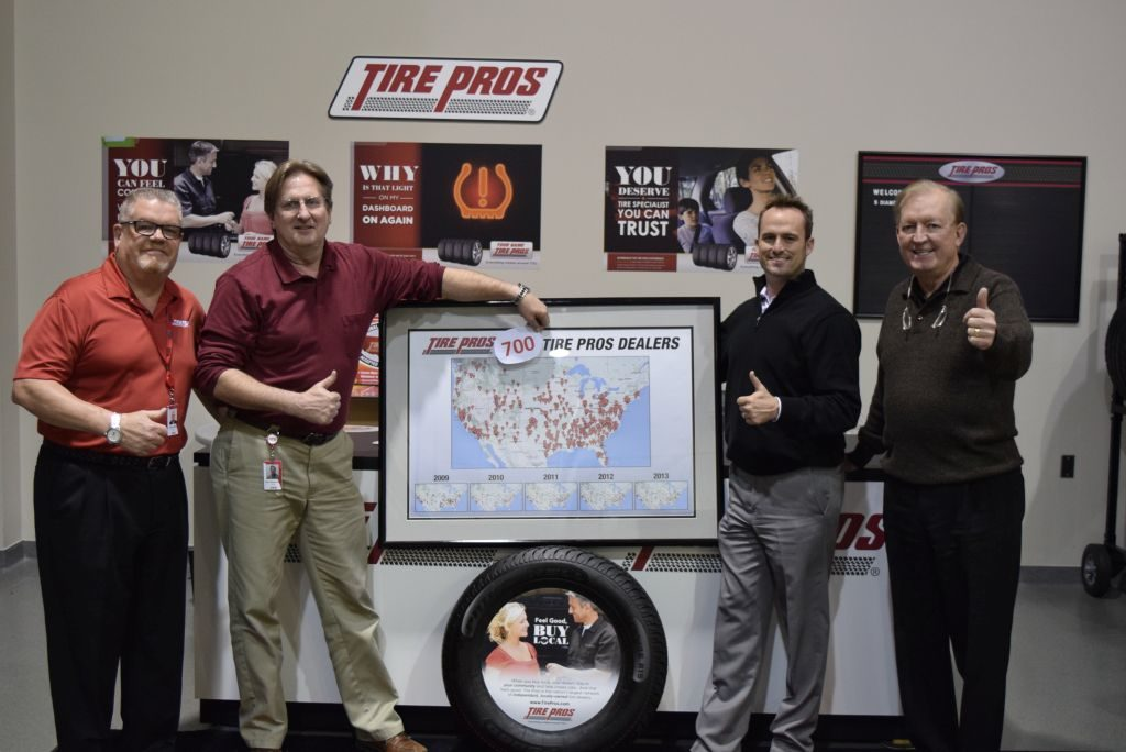 Tire Pros: 700 Stores and Counting!