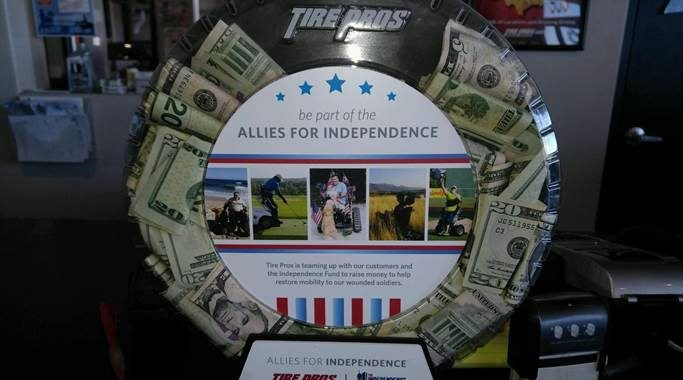 Tire Pros Dealers Begin Fundraising Events for Wounded Veterans