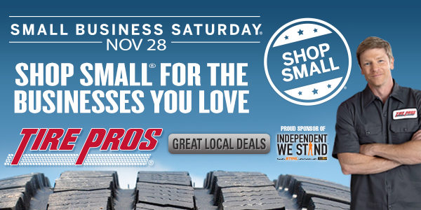 Tire Pros Supports Small Business Saturday With Continental Tires Rebate