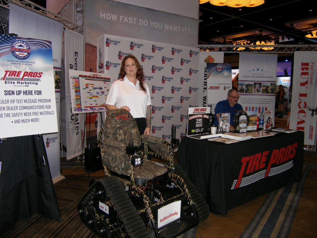 Tire Pros Unveils 'Allies for Independence' Campaign to Support Wounded Veterans