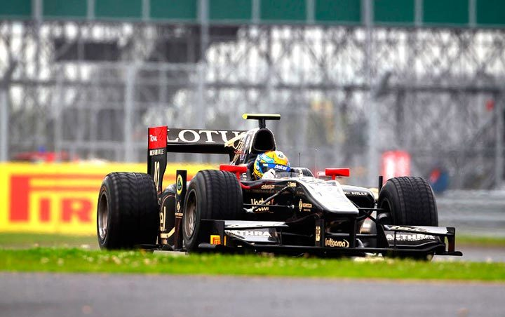 Tire strategy ensures a win from the back at GP3 in Britain