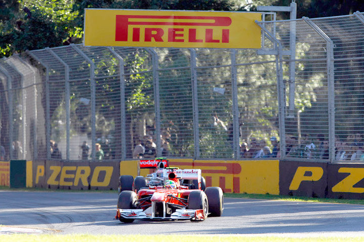 Tire strategy to form the key to the 2012 Formula One season