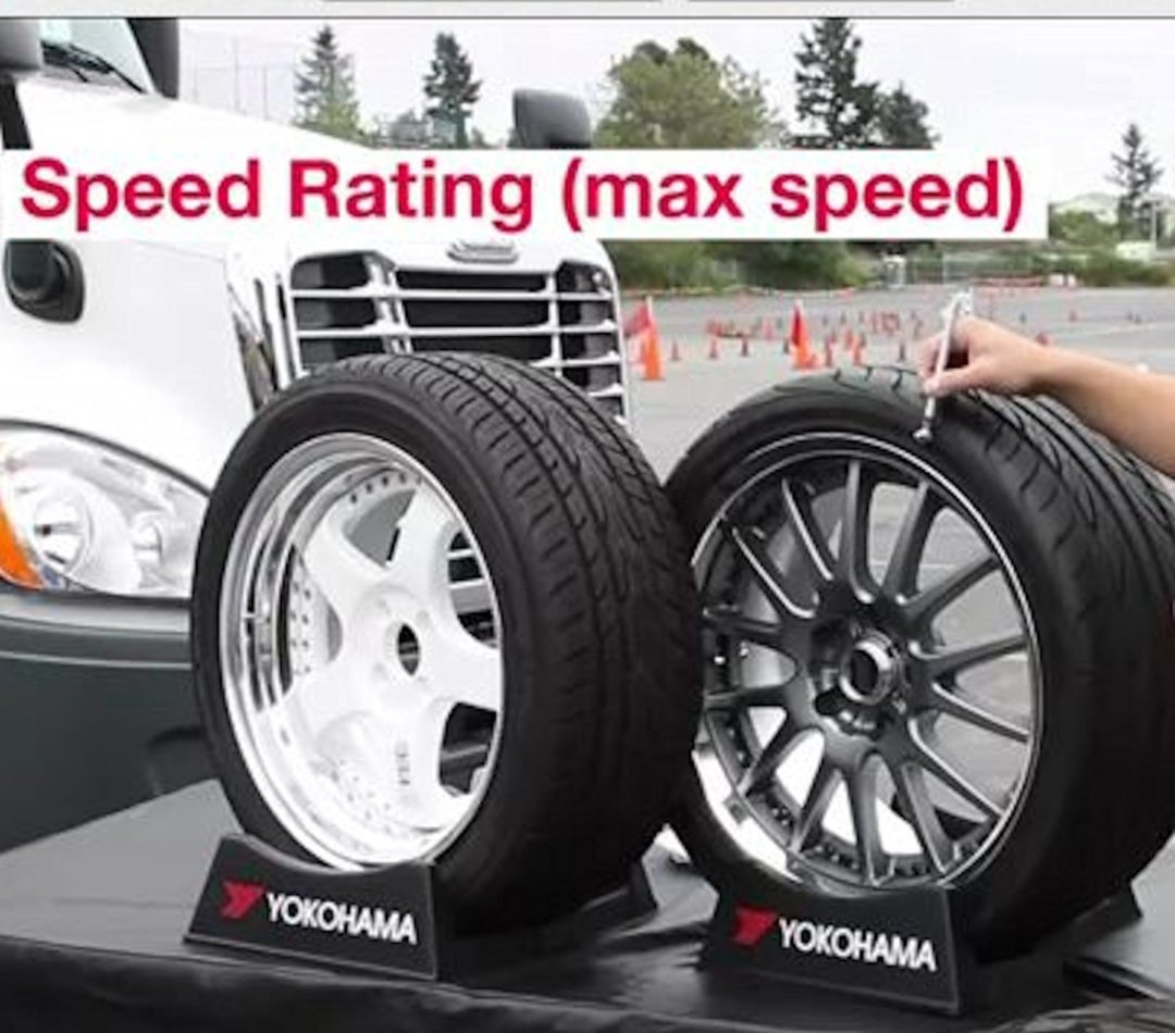 Tire tip teaches consumers how to read