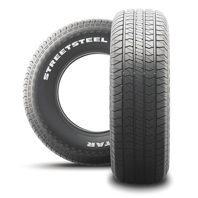 Tireco Unveils Classic American Muscle Car Milestar Streetsteel Tire