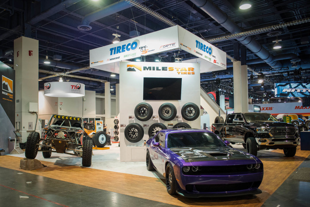 Tireco Unveils New Products, New Sizes at SEMA Show