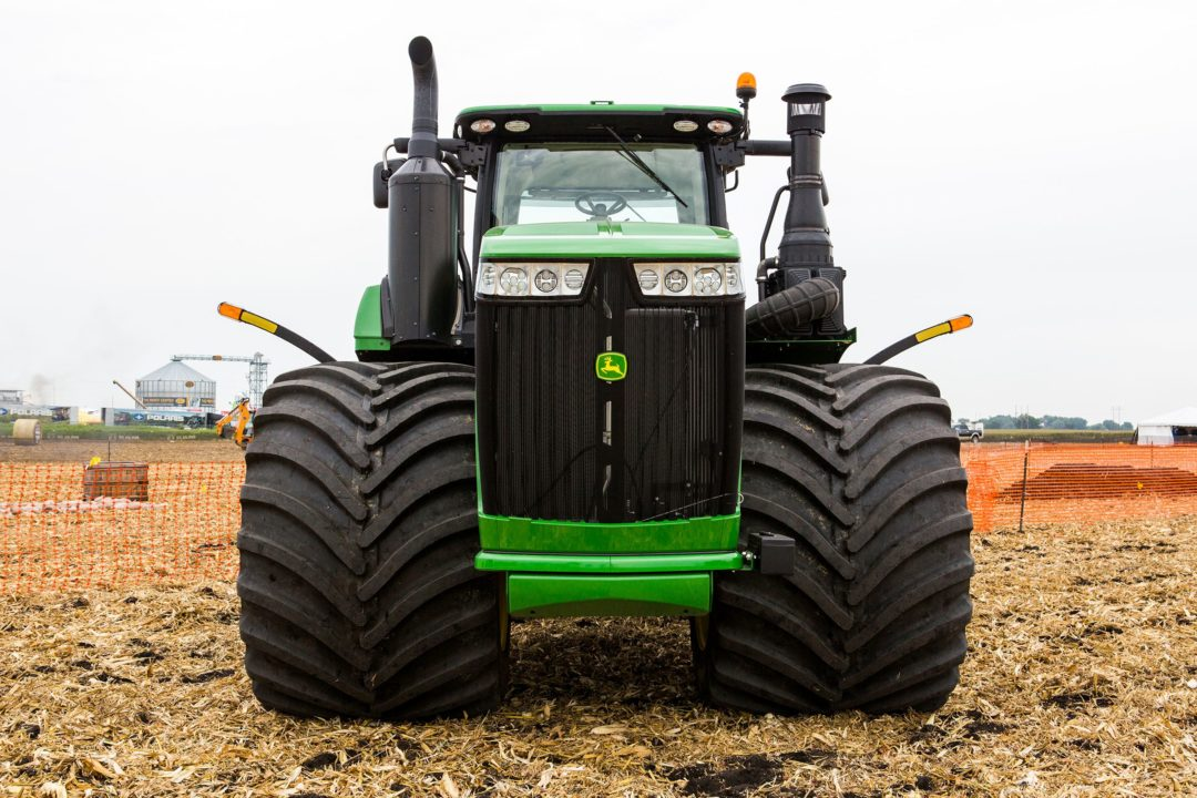 Titan Debuts the World's Largest Farm Tire