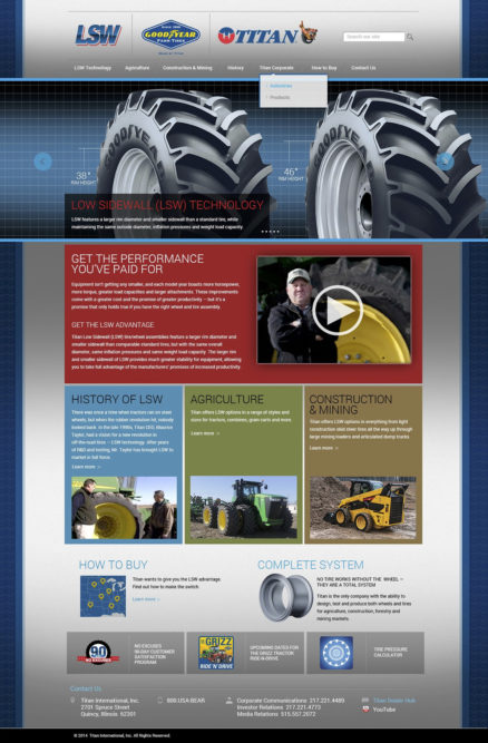 Titan launches website covering LSW tires