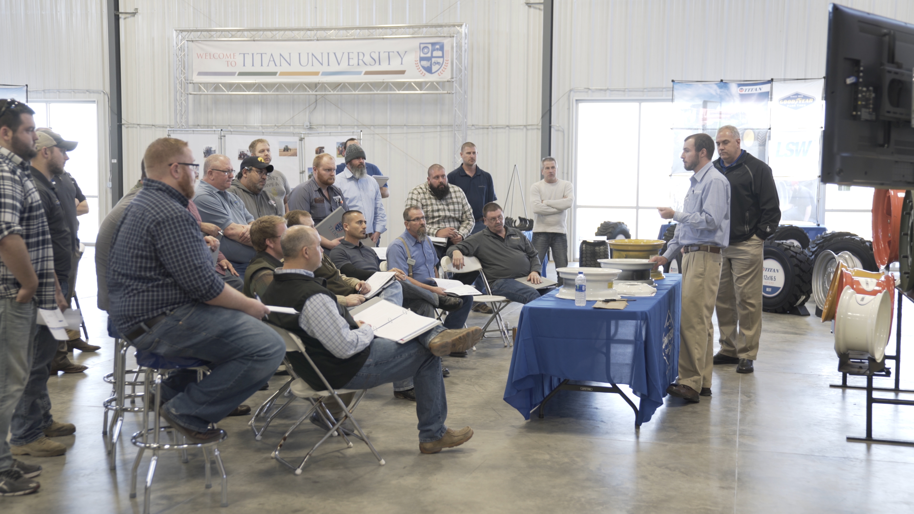 Titan Offers Multi-Level Dealer Training