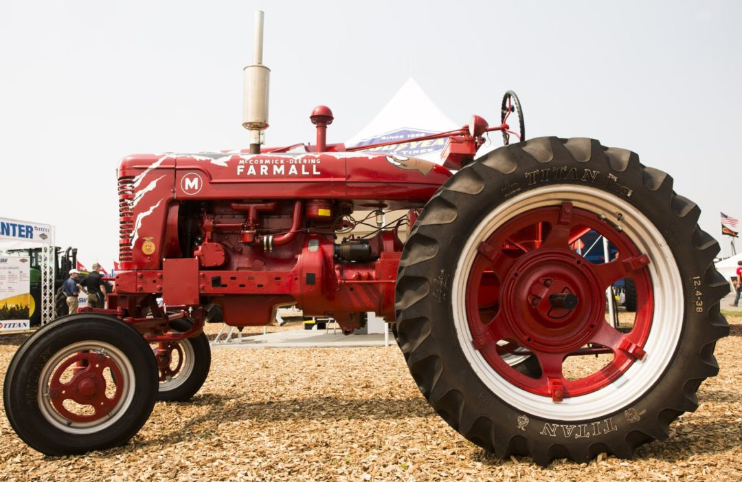 Titan Program Awards Tires to Youth For Restoring Antique Tractors