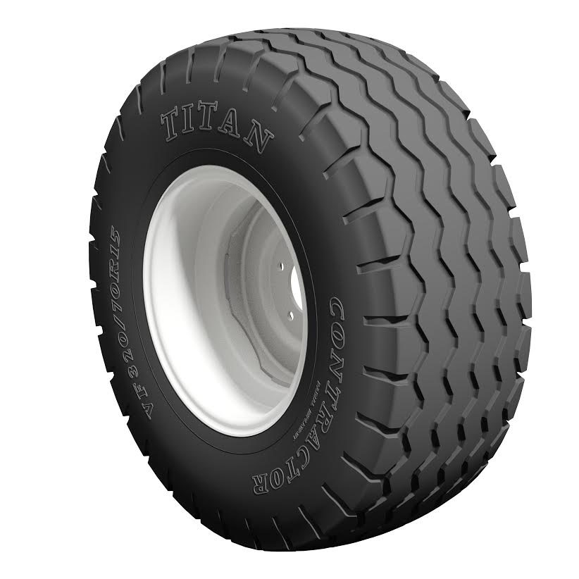 Titan Releases the Contractor Radial Tire for Implements