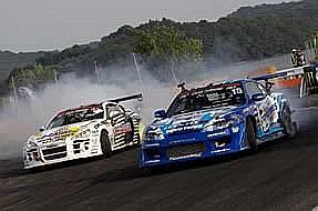 Toyo drifters prepare for the final Grand Prix rounds