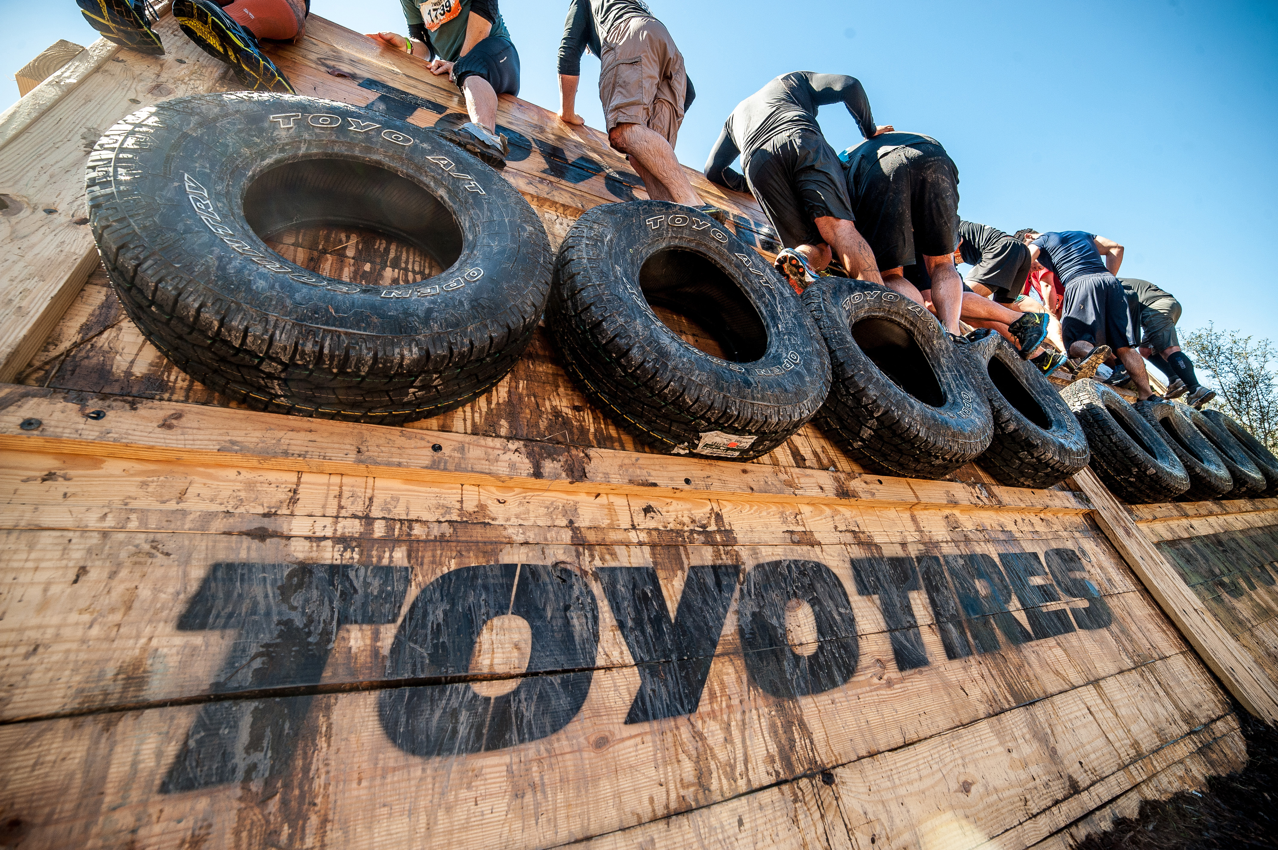 Toyo is named the official tire of Tough Mudder