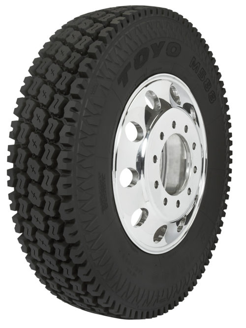 Toyo M588 Is Designed for Heavy-Duty On- and Off-Road Use
