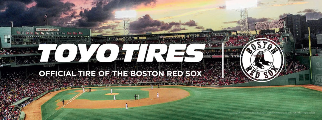 Toyo: Official tire of the Boston Red Sox