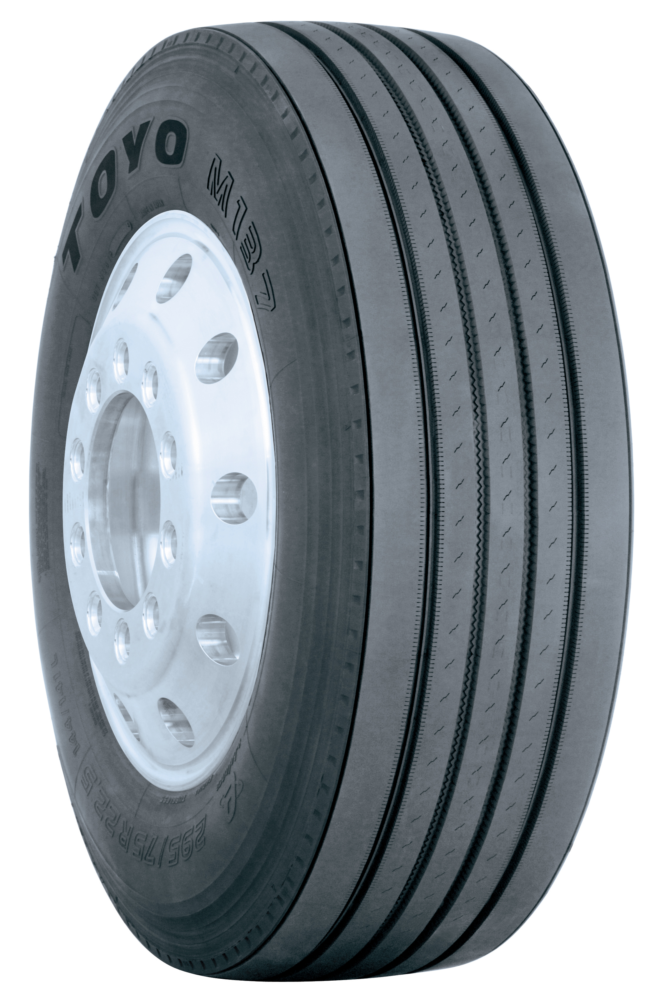 Toyo premium HP steer tire available in 16-ply