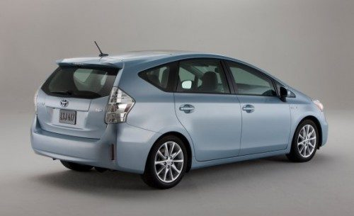 Toyo Proxes A20 is OE on 2012 Prius v Hybrid