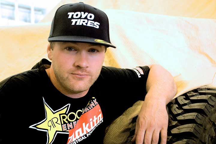 Toyo supports off-road racer Kyle LeDuc in the Lucas Oil Off-Road Series