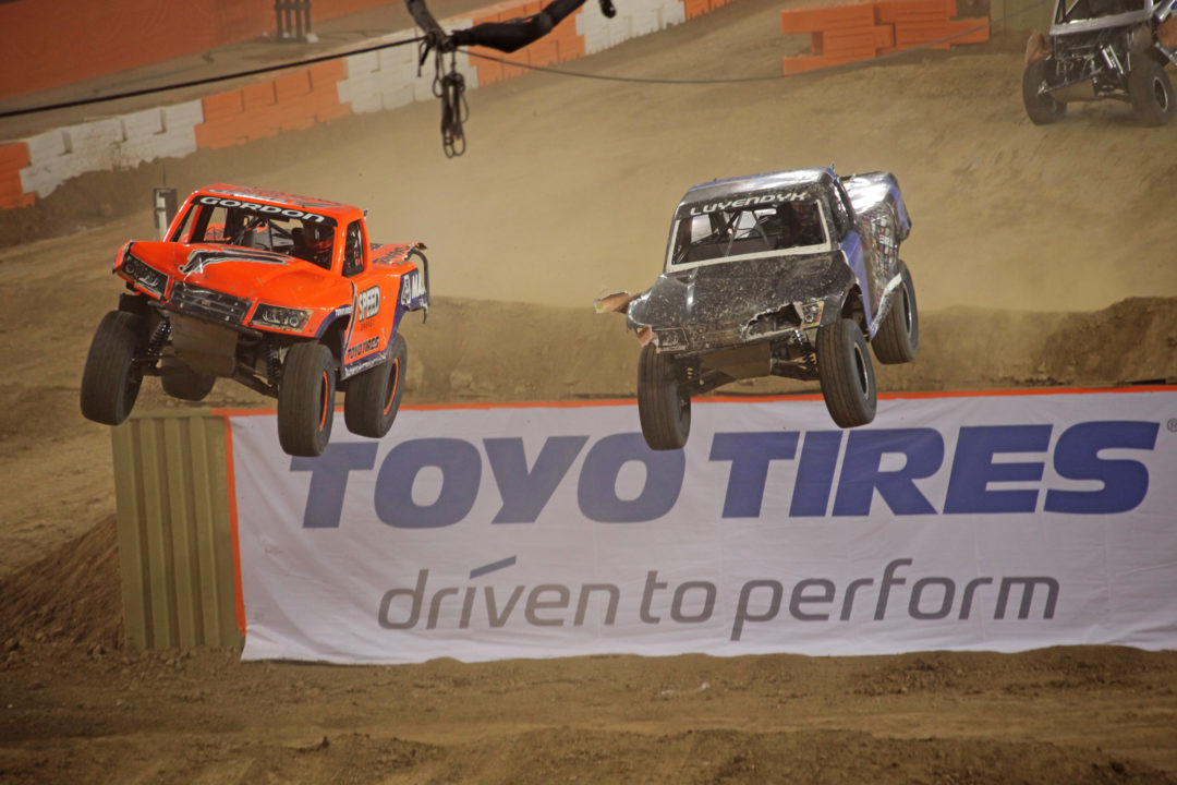 Toyo sweeps podium at Inaugural Stadium SUPER Trucks Race