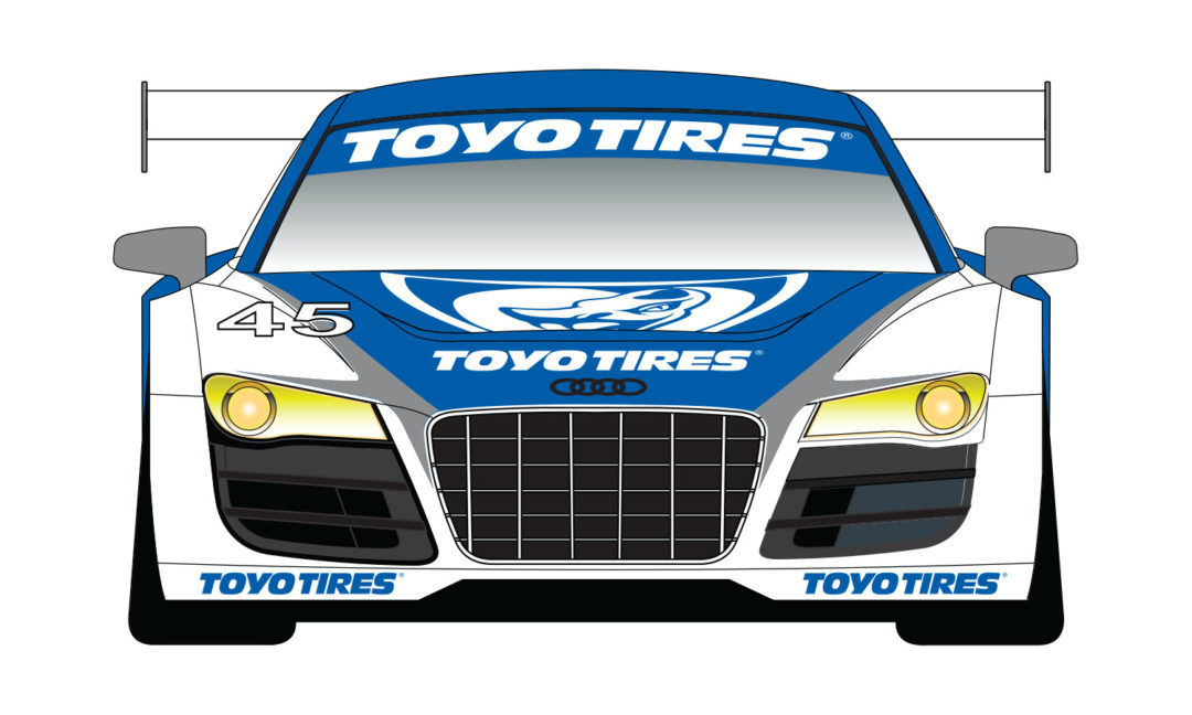 Toyo Tires teams with Flying Lizard for the USAF 25-Hours of Thunderhill