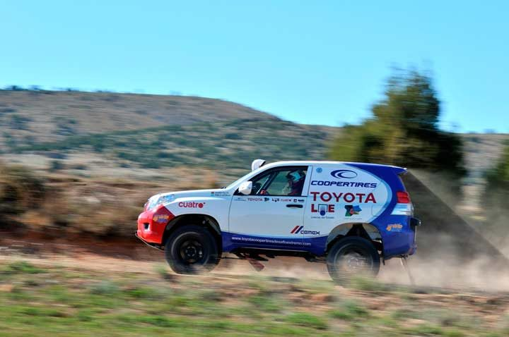 Toyota Cooper Tires team conquers another Dakar contest