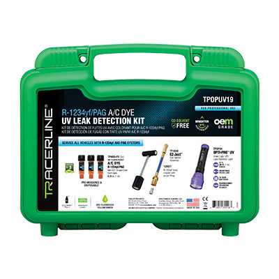 Tracer Articles Has New R1234yf Leak Detection Kit