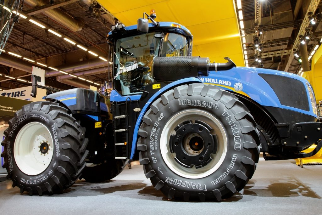 Trelleborg debuts wheel solution at ag show