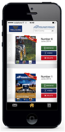 Trelleborg extends app to mobile devices