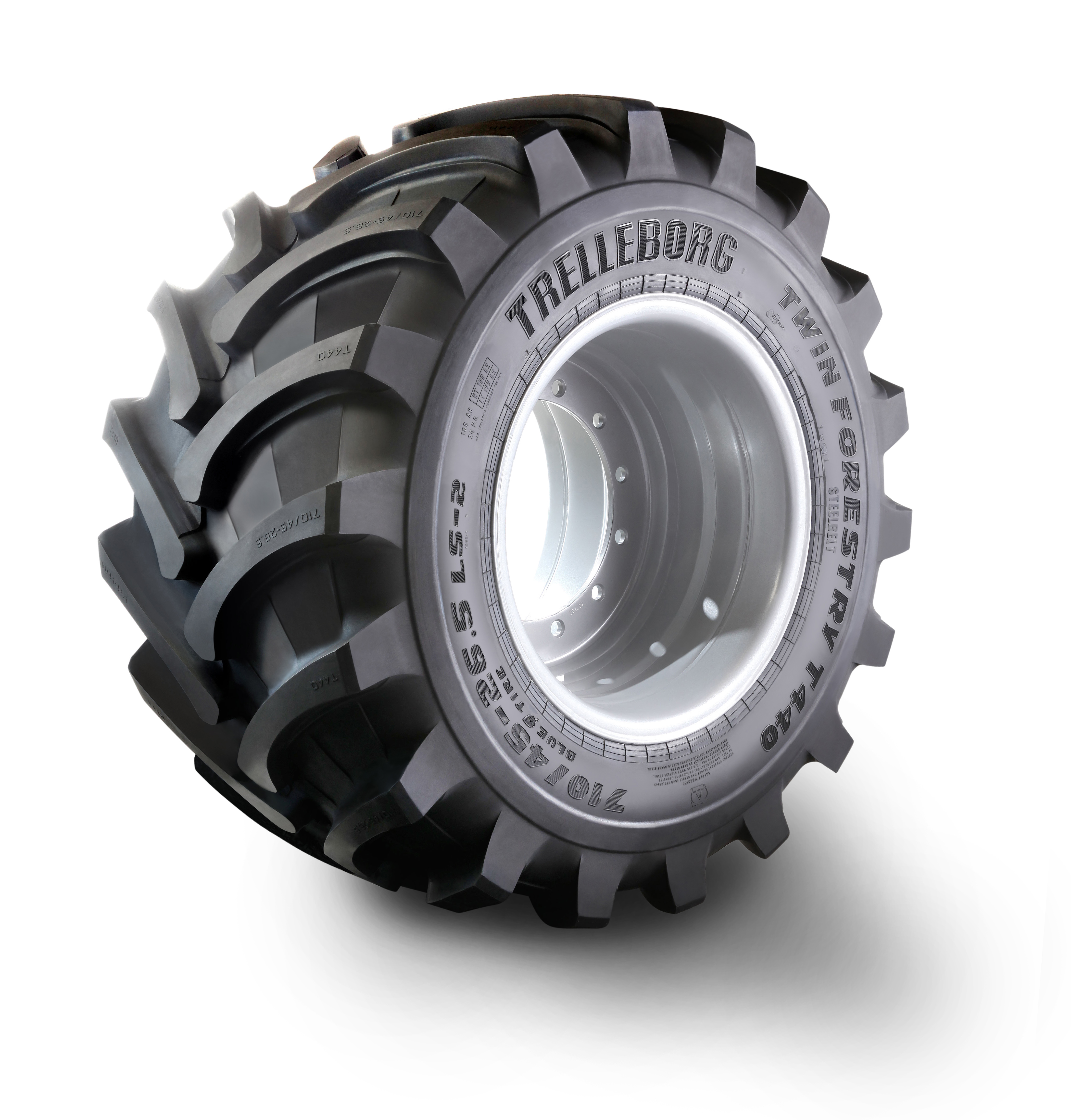 Trelleborg has a new line of forestry tires