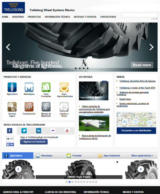 Trelleborg launches new website