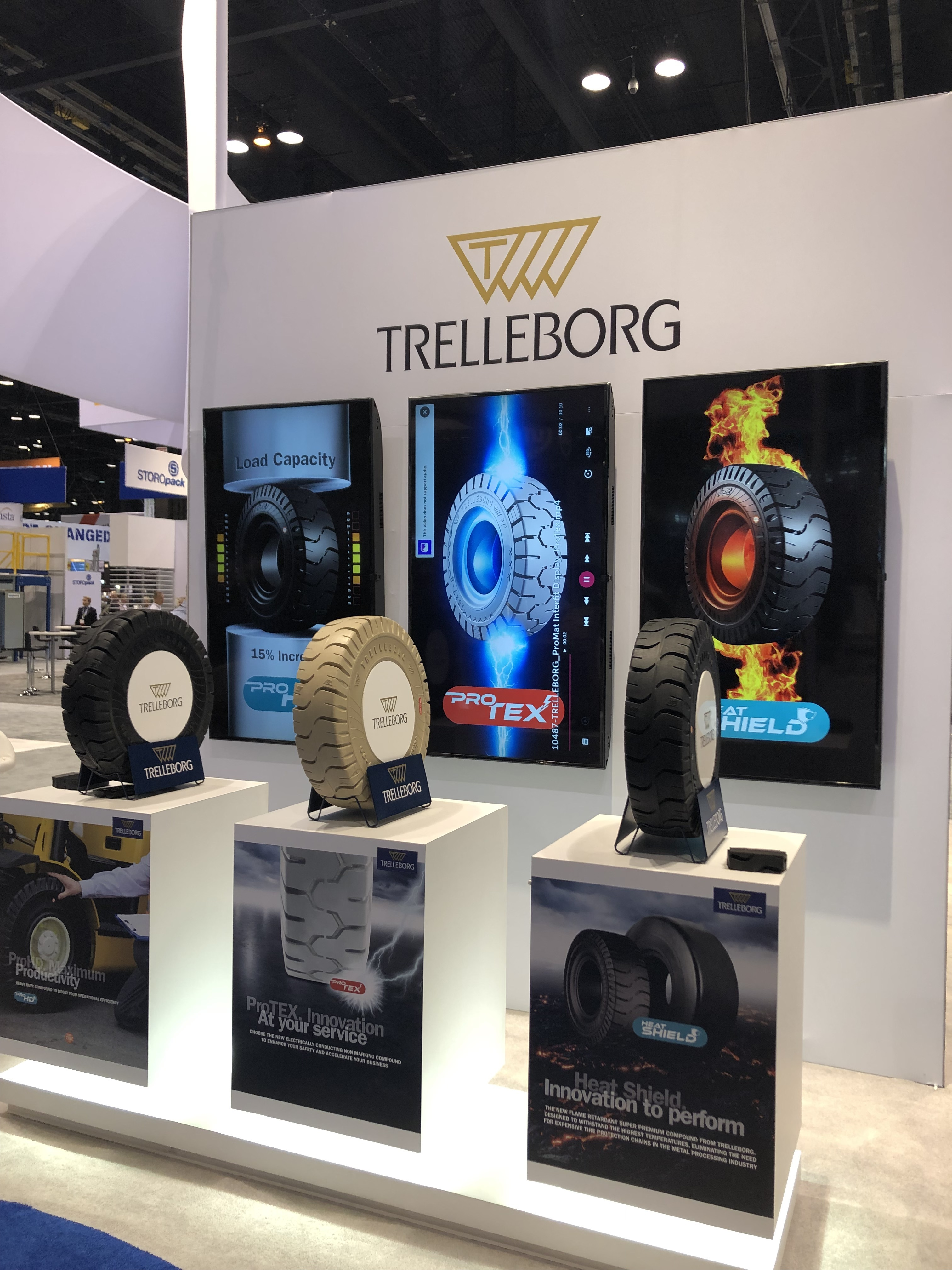 Trelleborg Shows Off 3 New Tire Compounds