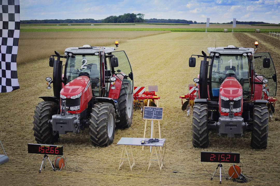 Trelleborg tests effect of wider tire footprint