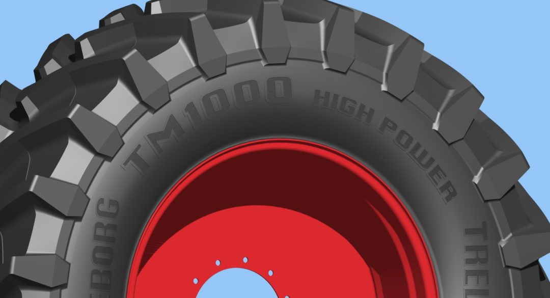 Trelleborg to debut super single tractor tire
