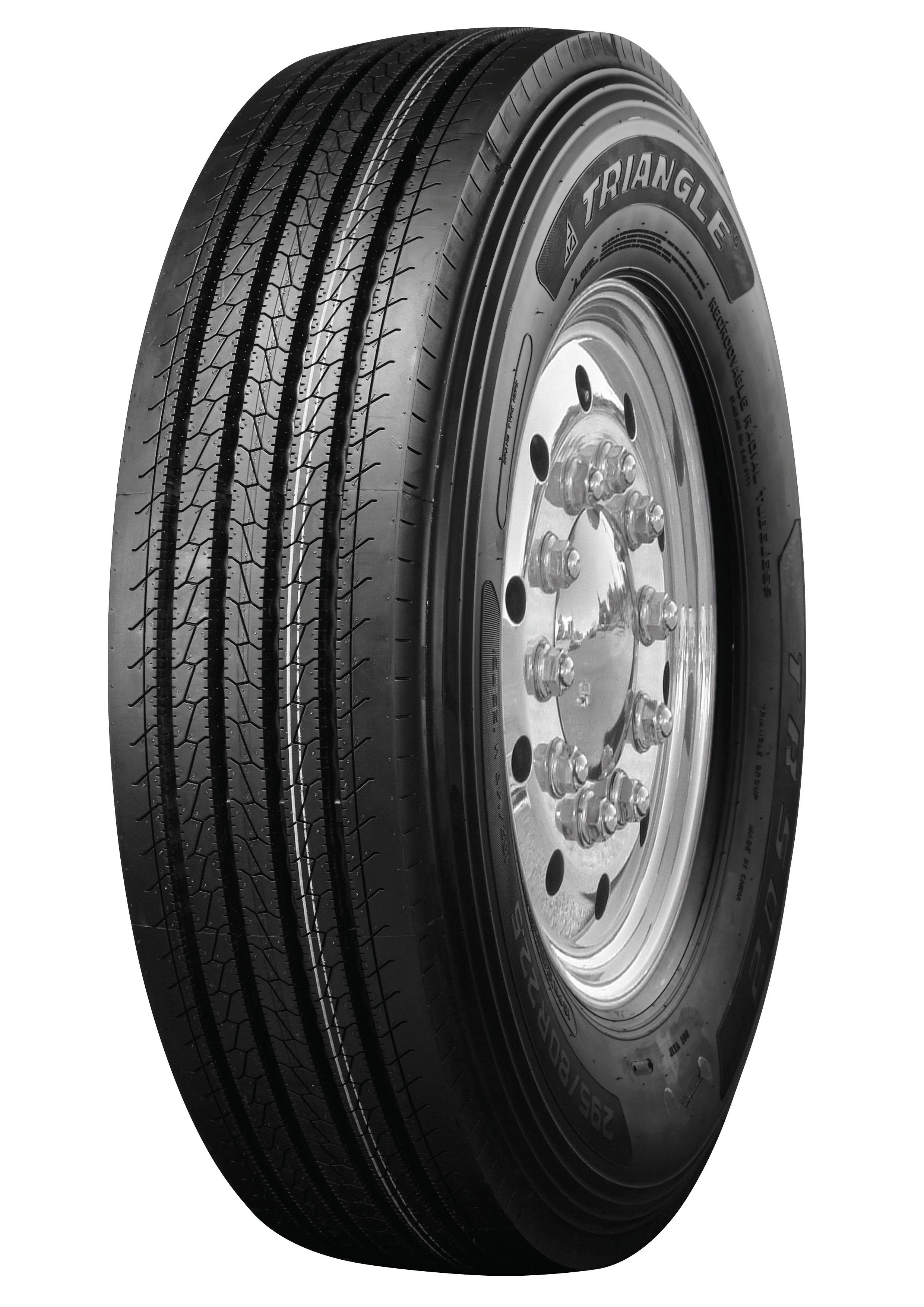 Triangle TRS02 Truck Tire Is Available in 10 Sizes