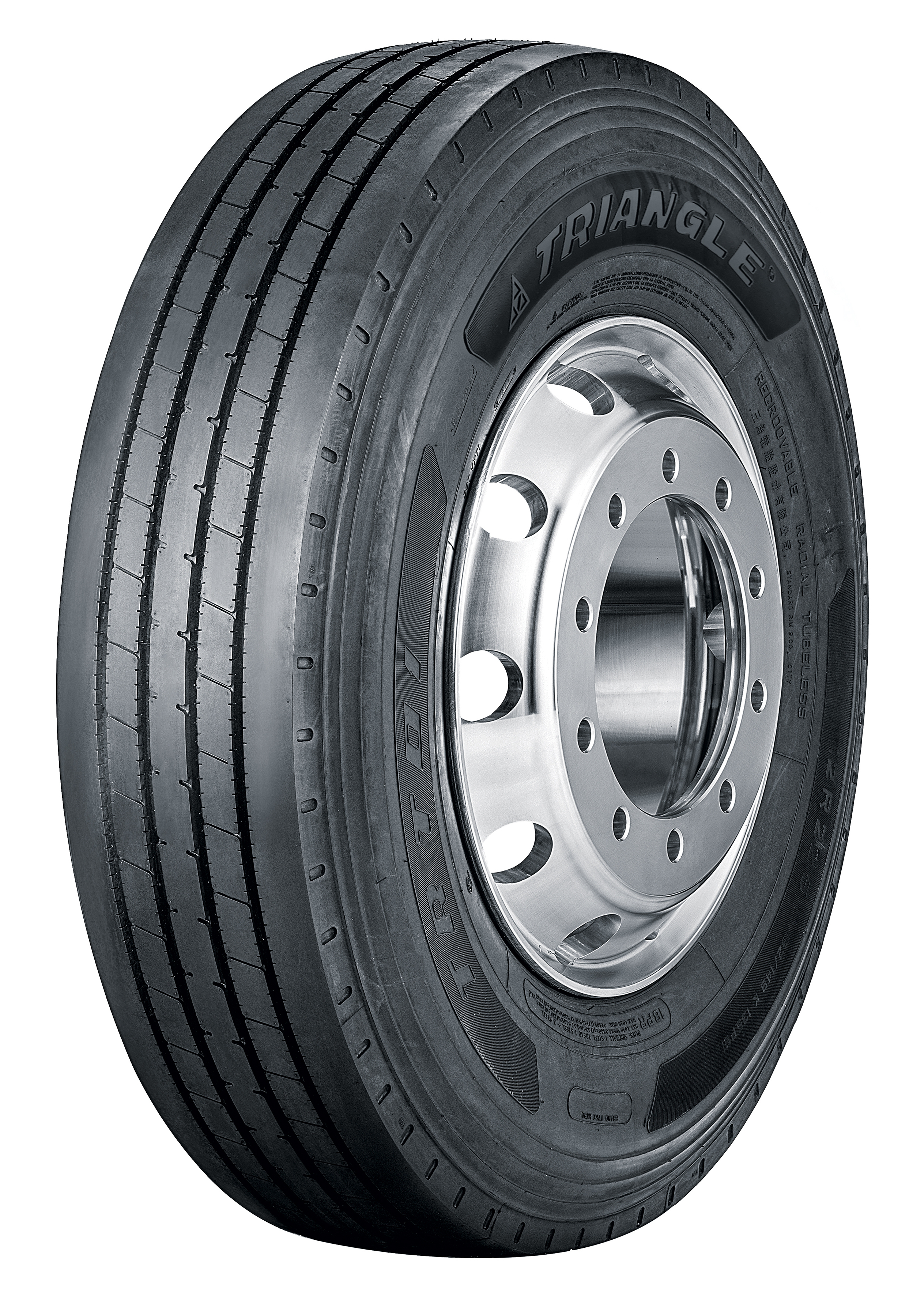 Triangle Unveils All-Steel Trailer Tire