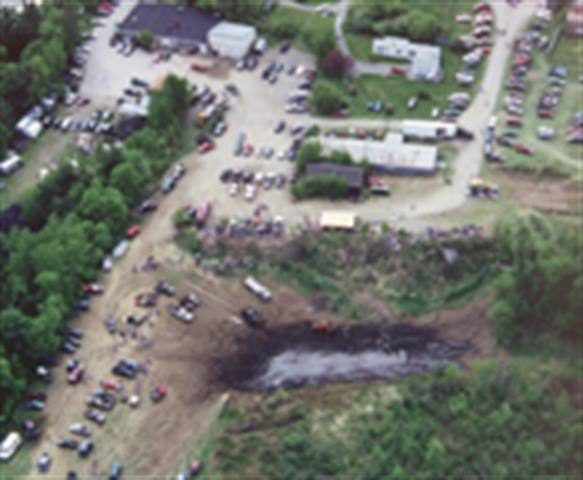 Turning a mud pit into a gold mine: From dirt and water springs a masterful marketing promotion
