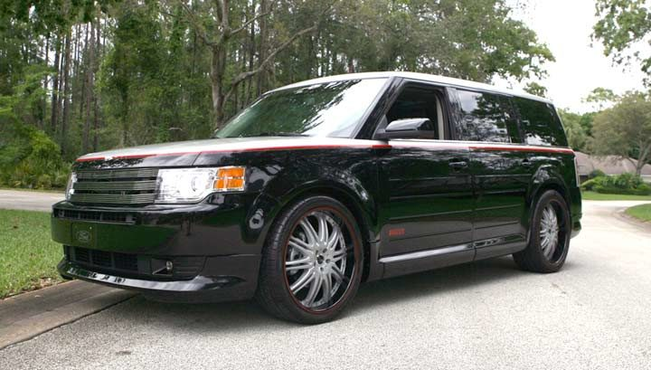Two races and two chances to win Chip Foose-Pirelli Edition Ford Flex remain