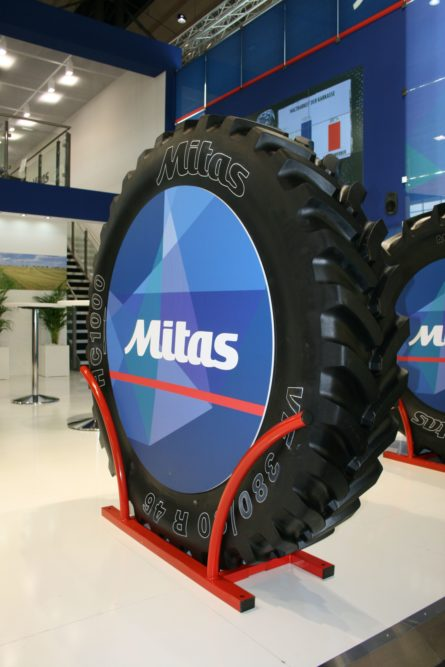 U.S.-made Mitas VF tire debuts in Europe