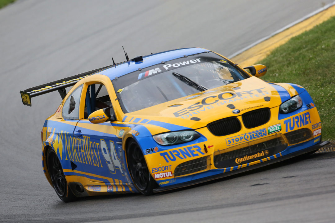 Under changing track conditions, Continental Tires give racers confidence