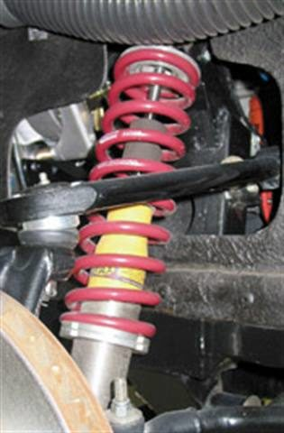 Undercar upgrades: There are many ways to enhance handling and directional control
