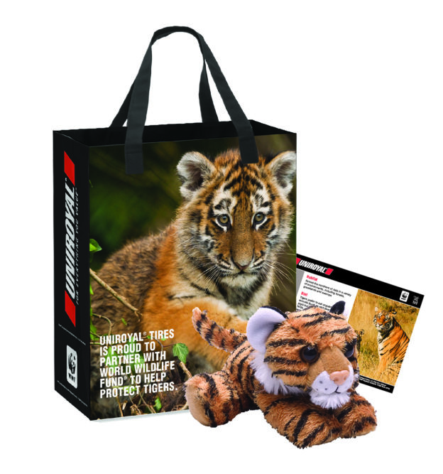 Uniroyal Wants to Save Tigers in the Wild