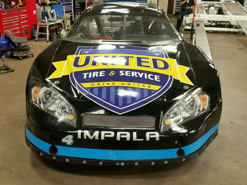 United Tire & Service Promotes Its Brand on the Track