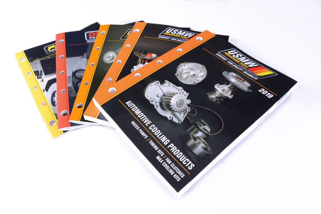 US Motor Works Debut Catalogs at AAPEX and SEMA Shows