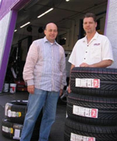 Value-added service: Evans Tire