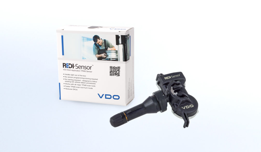 VDO TPMS Sensor Features Snap-In Stem